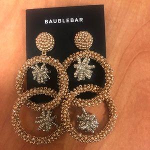 Baublebar Beaded Hoop Earrings